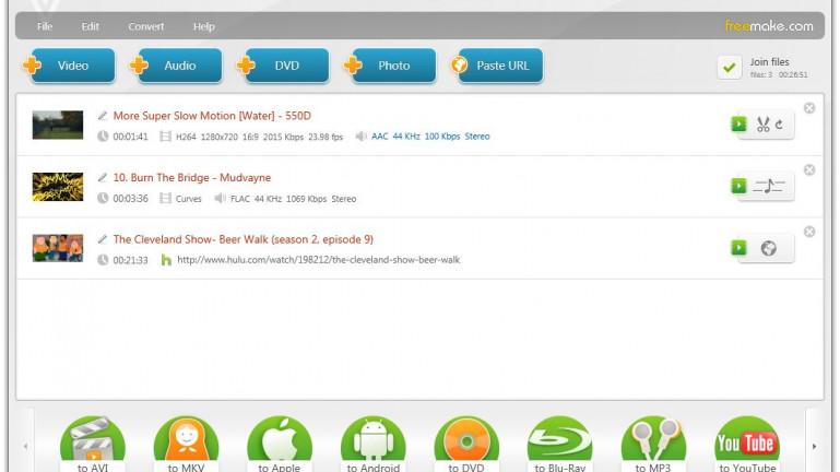 Freemake Video Converter - Free Download - FilePlanet