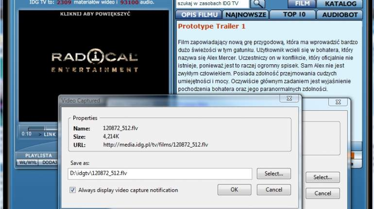 Web Video Downloader for Firefox 3 3 build 70720