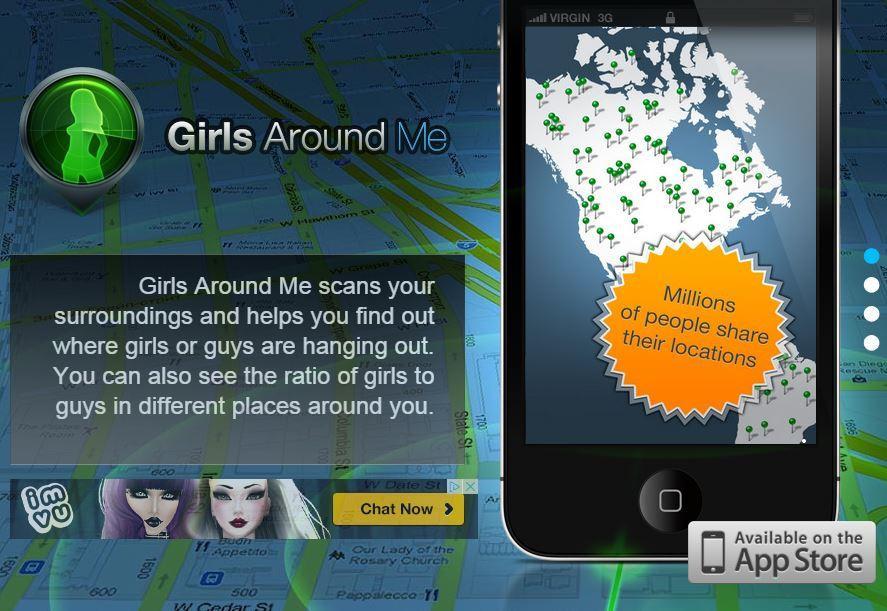 Aplikacje randkowe rozpoznające lokalizację