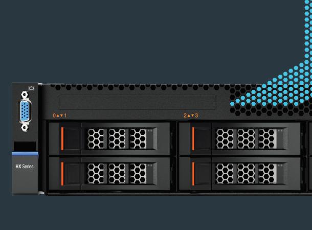 Lenovo Converged HX Series: szybsze wdrożenie, maksymalna utylizacja, mniejsze koszty.