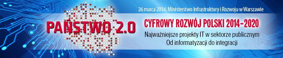 Państwo 2.0 - Cyfrowy rozwój Polski 2014-2020