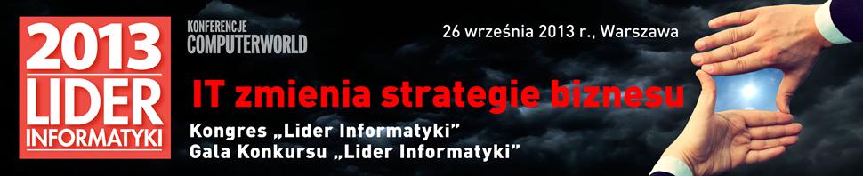 Lider Informatyki 2013
