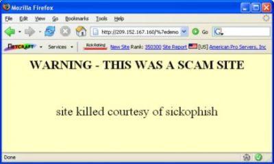 Haker ostrzega przed witrynami phisherów