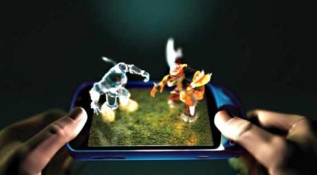Powstają mobilne wyświetlacze 3D