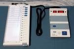 Terminal wyborczy wykorzystywany w Indiach