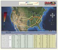 Na stronie noc.net.internet2.edu można na bieżąco sprawdzać obciążenie najważniejszych łączy międzywęzłowych sieci Internet2 Network (dawniej Abilene).