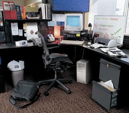 Bezpieczne biurko
