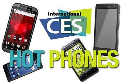 Najgorętsze smartfony CES 2011