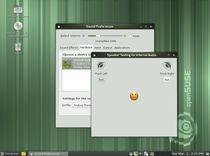 openSUSE 11.4 - test głośników