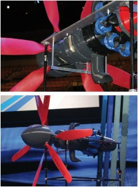 Silnik turbośmigłowy w całości wyprodukowany za pomocą addytywnej technologii druku