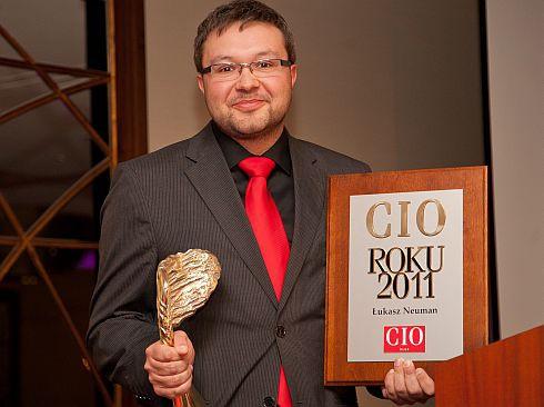 Łukasz Neuman został wybrany CIO Roku 2011