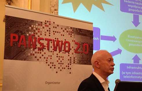 Michał Boni na konferencji Computerworld Państwo 2.0