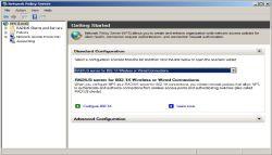 Od Windows Server 2008 Microsoft oferuję usługę RADIUS w postaci Network Policy Server (NPS). Wcześniej zapewniała to usługa serwerowa Internet Authentication Service (IAS). Jak większość usług serwerowych Windows, NPS konfiguruje się przy użyciu GUI.