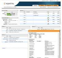 Przeglądarkowy panel konfiguracyjny Vyatta jest jednym z wielkich atutów komercyjnego wydania, ale podstawowa wersja open source także oferuje - przez interfejs tekstowy – bogatą funkcjonalność tego opartego na x-86 sieciowego systemu operacyjnego