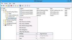 DNSSEC w Windows Server 2012 – podpisywanie strefy