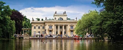 ERP pomaga administrować letnią rezydencją króla Stanisława Augusta