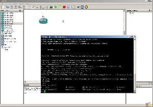 Rozbudowana symulacja środowiska sieciowego z wykorzystaniem GNS3