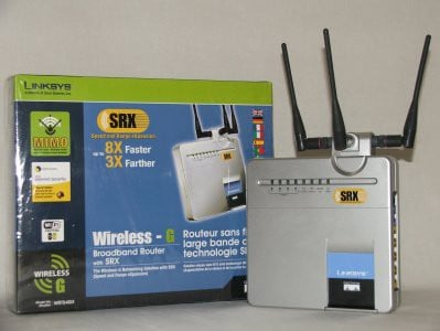 Router Linksys WRT54GX-EU