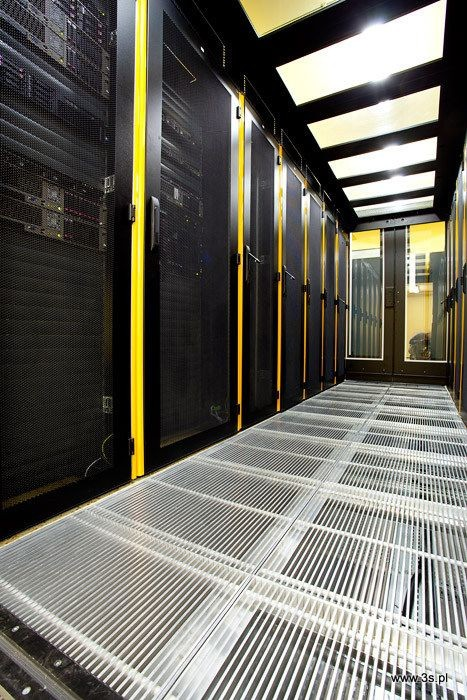 Serwerownia 3S Data Center.
