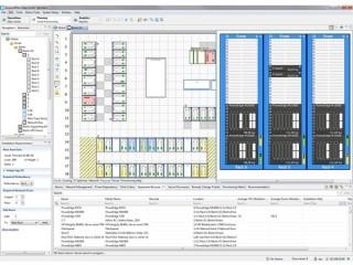 Przykład aplikacji DCIM. Źródło: apc.com