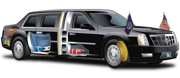 Co kryje w sobie Bestia – samochód prezydenta USA