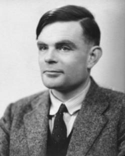 Alan Mathison Turing (źródło: Wikipedia)