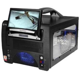 Lanbox z opcjonalnym ekranem LCD