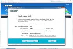 Qfinder - kreator konfiguracji serwera NAS