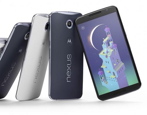 Google Nexus 6.