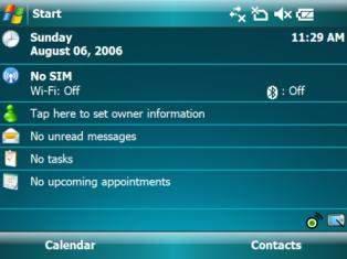 Windows Mobile 6.0 w akcji (źródło: MSMobileNews.com)