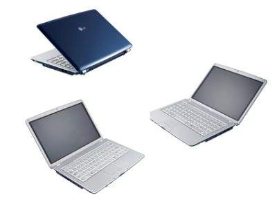 Ultraprzenośny notebook LG TX Express