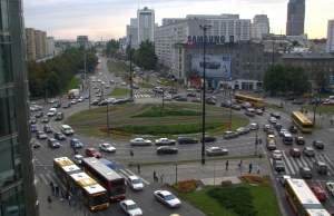 Rondo ONZ w Warszawie. Źródło: Wikipedia.