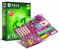 Czas na MSI z KT600