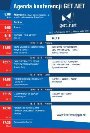 Agenda konferencji GET.NET.