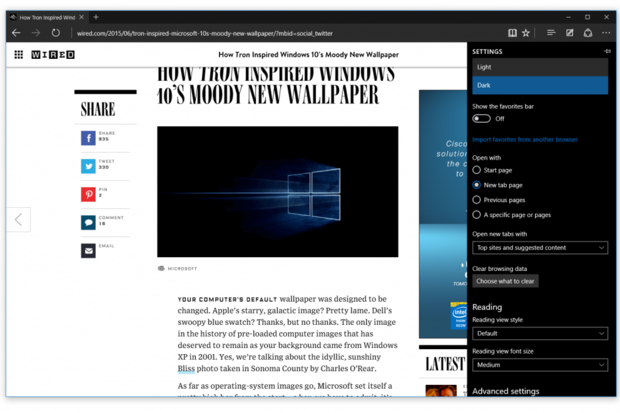 Microsoft Edge to przeglądarka internetowa, która zastąpiła Internet Explorera