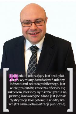 Wojciech Wrona, dyrektor sprzedaży do sektora publicznego w EMC Computer Systems Poland