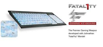 Fatal1ty Gaming Keyboard (żródło: Creative.com)