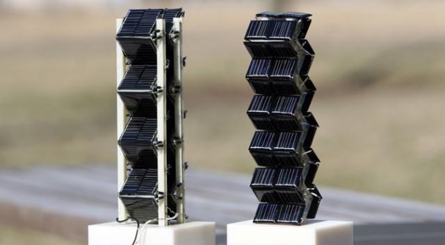 Super wydajne słoneczne panele 3D
