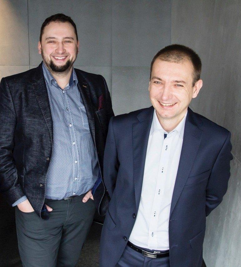 Fot: S4E. Od lewej: Paweł Piętka, CEO S4E, Arkadiusz Możdżeń, CTO S4E