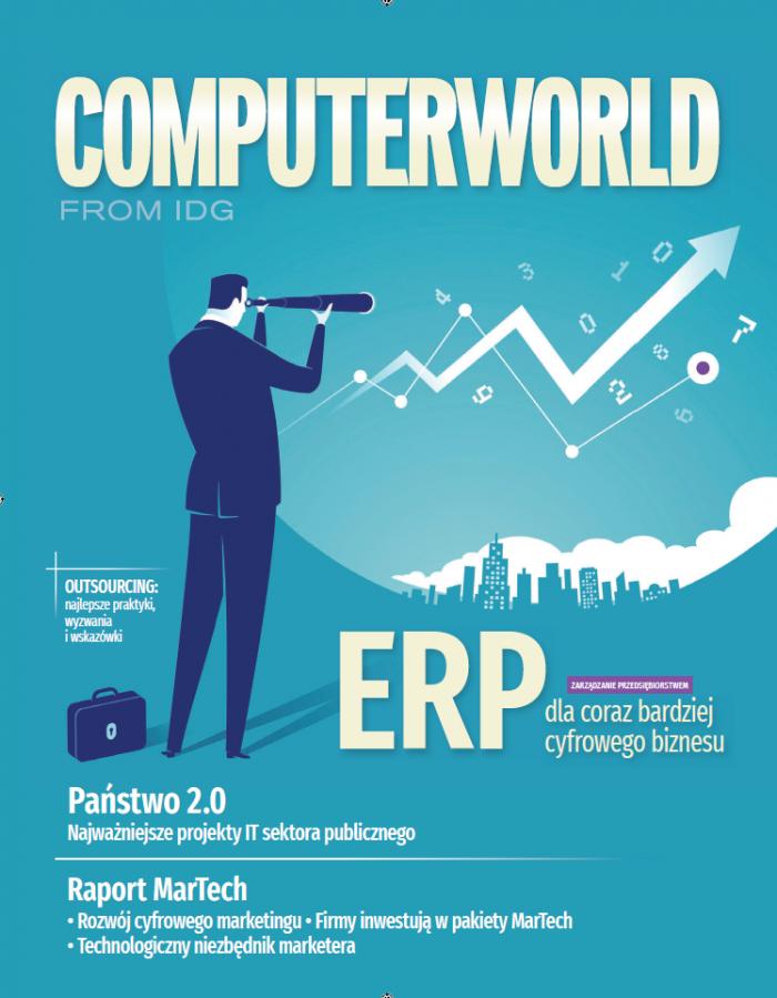 Computerworld 3/18: trendy ERP w Polsce, outsourcing IT, raport MarTech