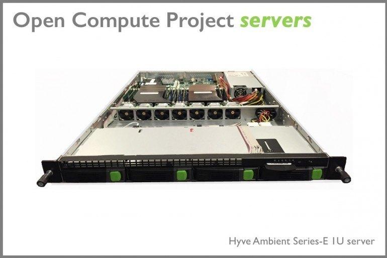 Te serwery powstały dzięki inicjatywie Open Compute Project