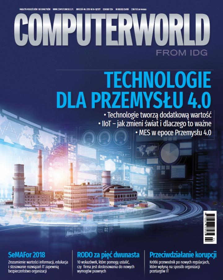 Computerworld 4-5/18: raport IoT, chmura, DevOps, RODO