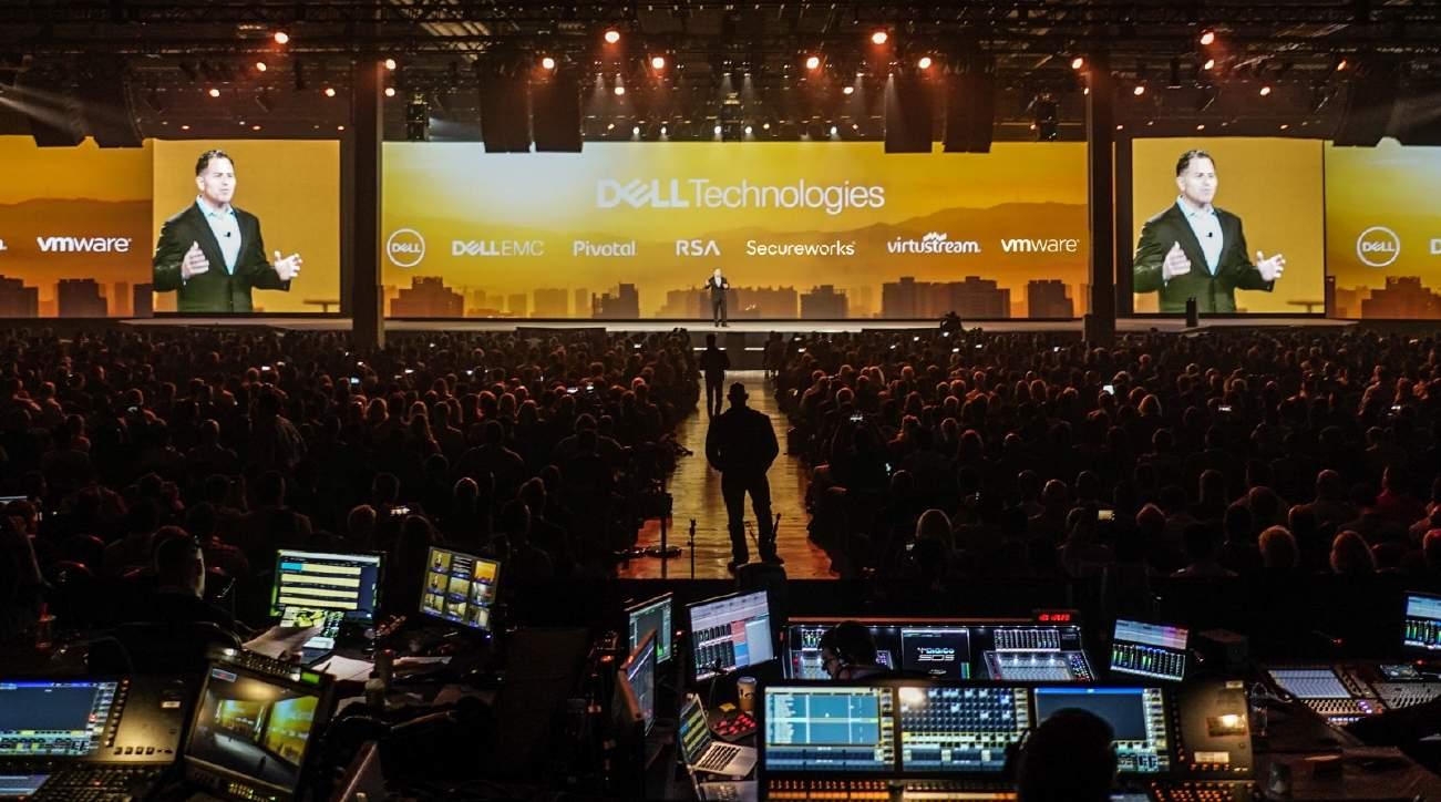 Michael Dell otwiera konferencję Dell Technologies World 2018