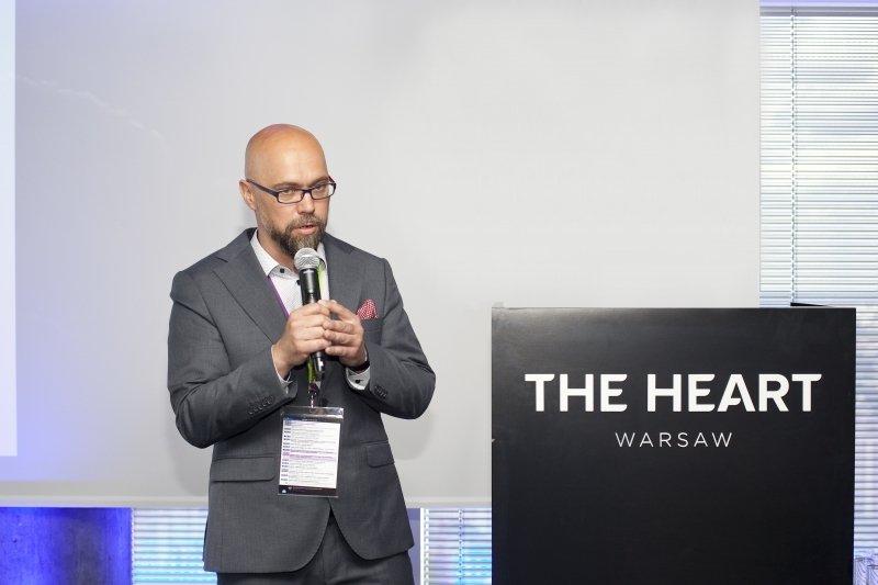 Jacek Chylak, Dyrektor Handlowy 3S Data Center prezentujący Cloud2B podczas konferencji Best In Cloud 2018