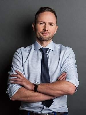 Łukasz Wróbel, wiceprezes i Chief Business Development Officer w krakowskiej firmie WEBCON. Źródło: WEBCON.