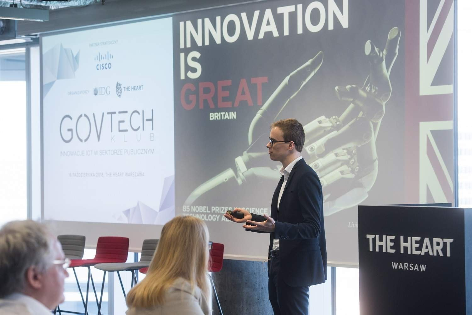 James Brown, Policy Lead for the GovTech Catalyst, Government Digital Service, UK