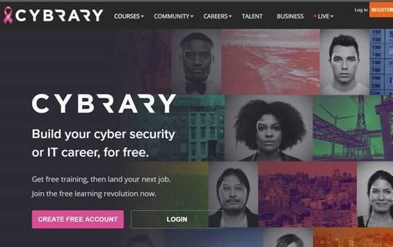 W sieci znajdziemy też serwisy e-learningowe specjalizujące się w konkretnej dziedzinie. Dla przykładu, www.cybrary.it to platforma online pozwalająca zdobywać wiedzę z cyberbezpieczeństwa i IT.