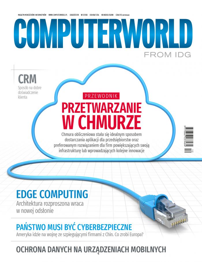 Computerworld 12/2018. Przewodnik po przetwarzaniu w chmurze