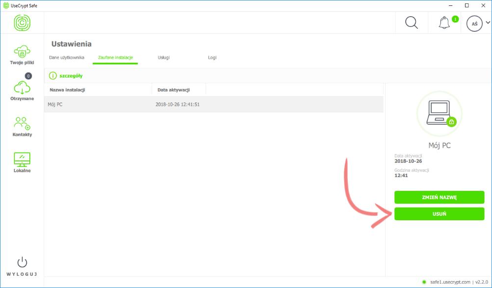 Oprócz usuwania aplikacji z urządzenia, logi zawierają szczegółowe adresy IP z prób logowania.