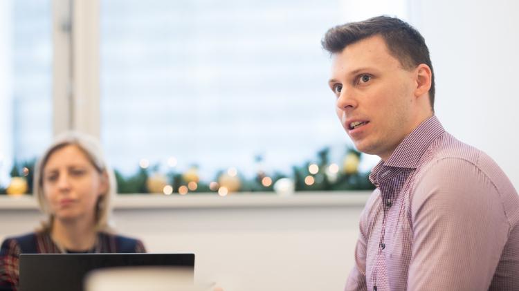 Piotr Bienias, inżynier systemowy, Fortinet